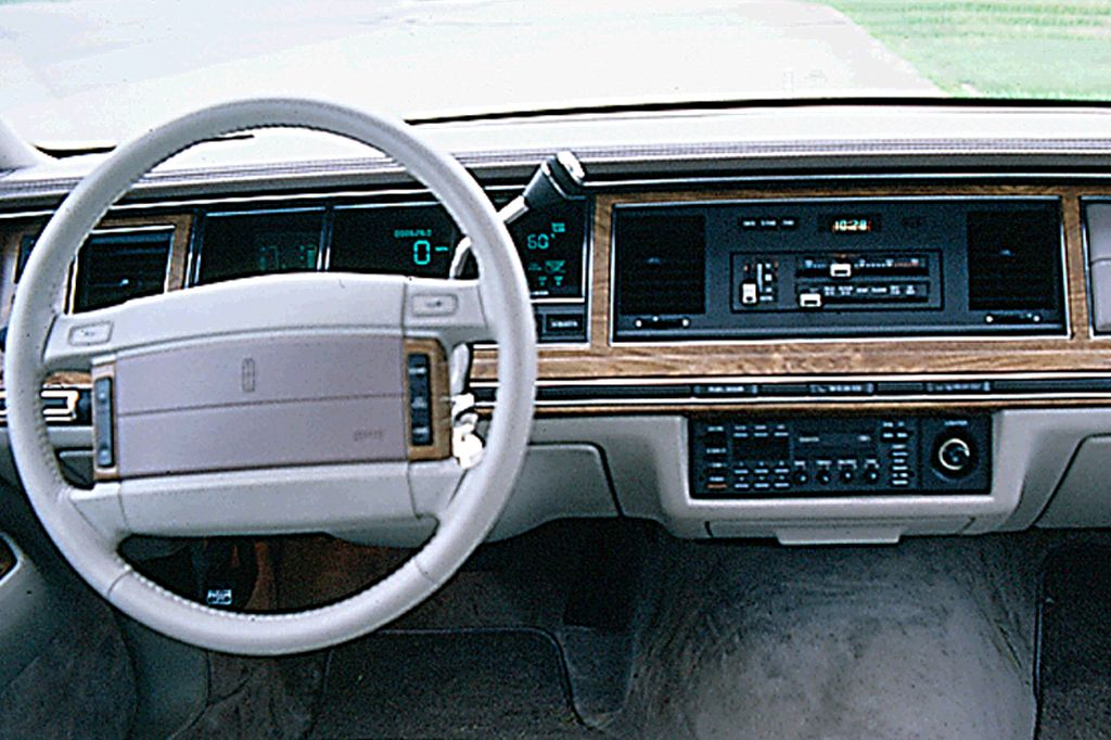 lincoln town car 1990 dashboards pinterest interiores. Black Bedroom Furniture Sets. Home Design Ideas