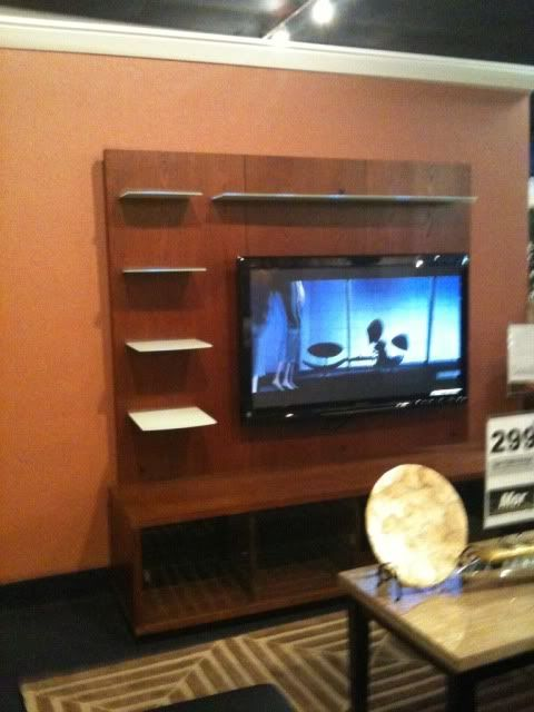 Finally, I found the perfect, modern yet warm tv wall unit for my home.
