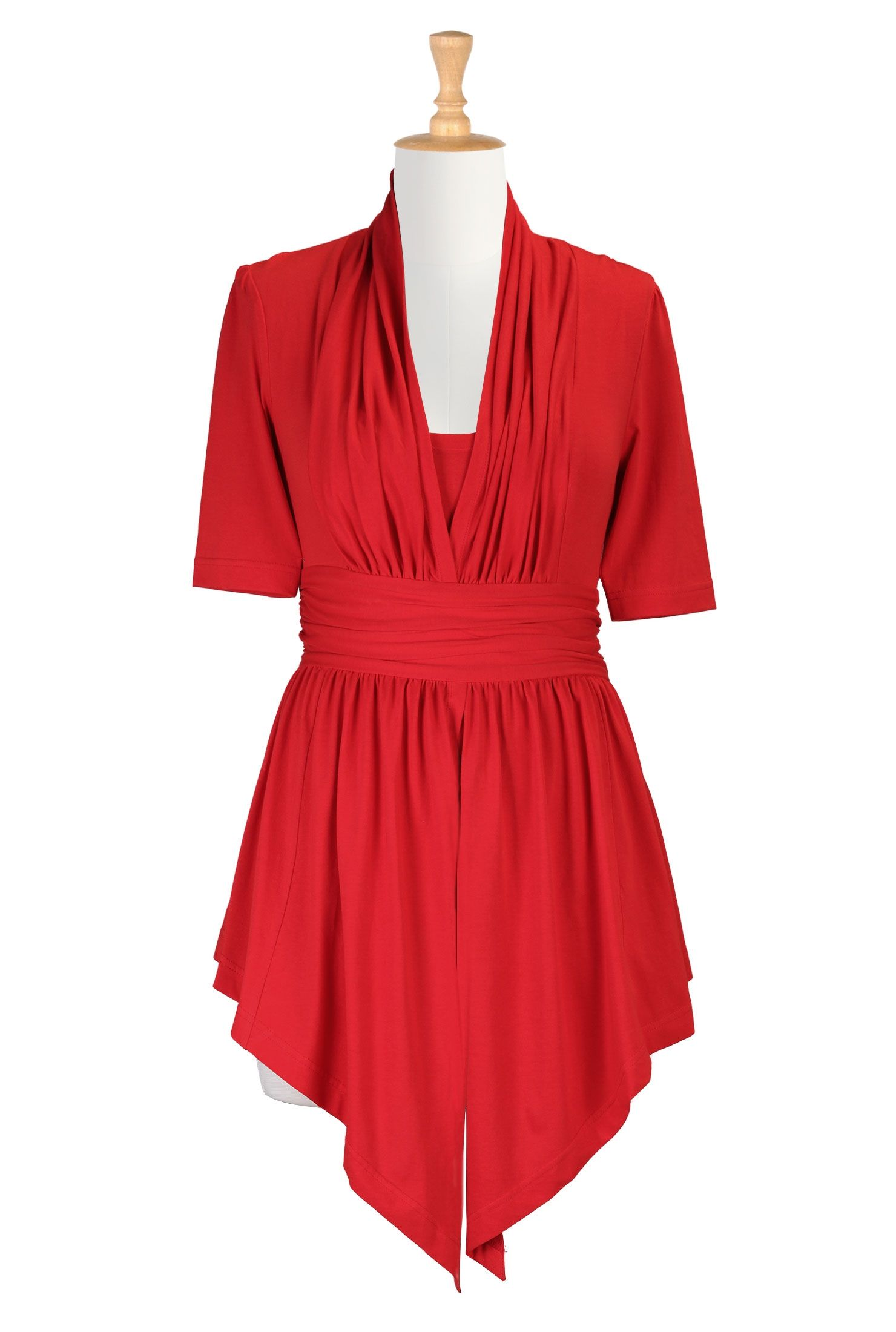 96d2c1e11c1af Women s designer clothing - Shop Women s Long Sleeve Tops - Tunic Tops