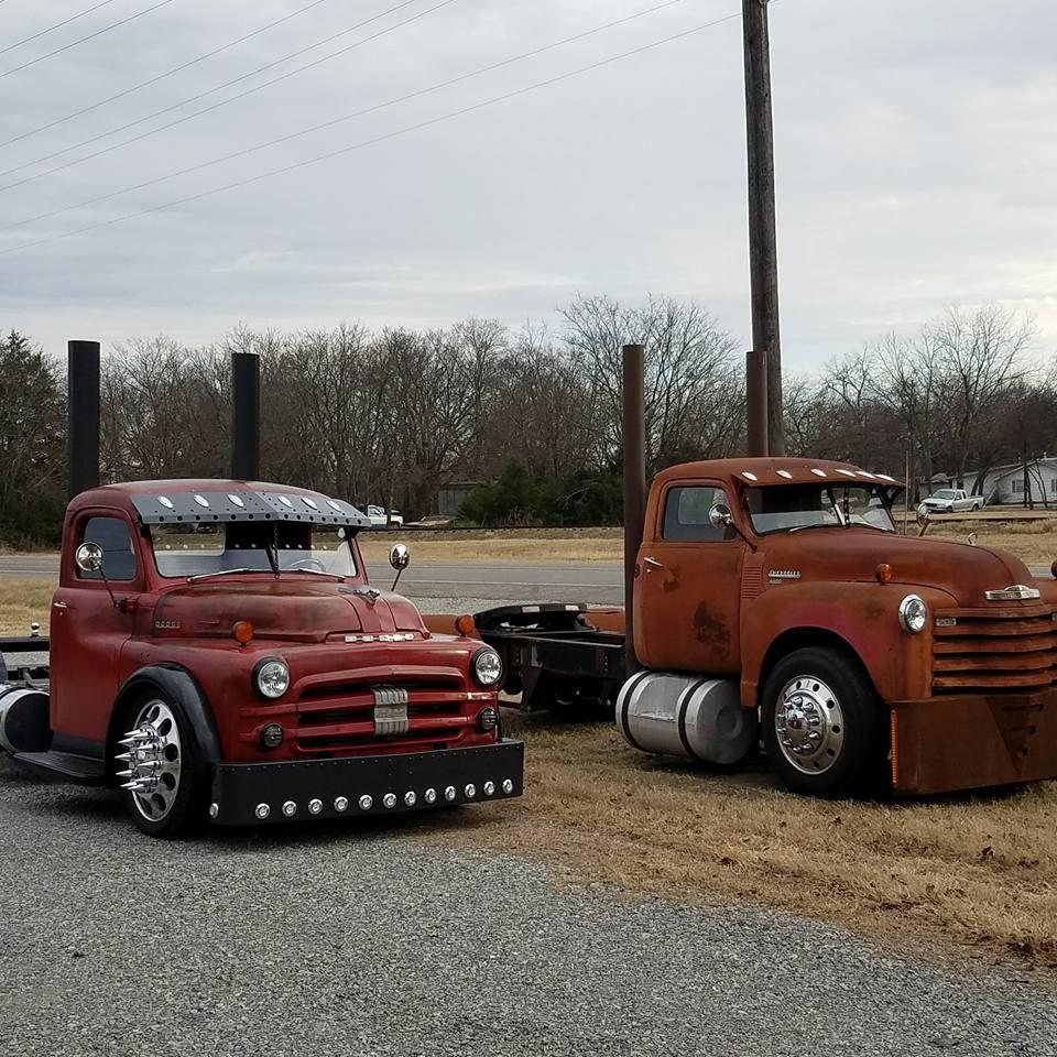 A Set Of Custom Vintage Big Rib Builds