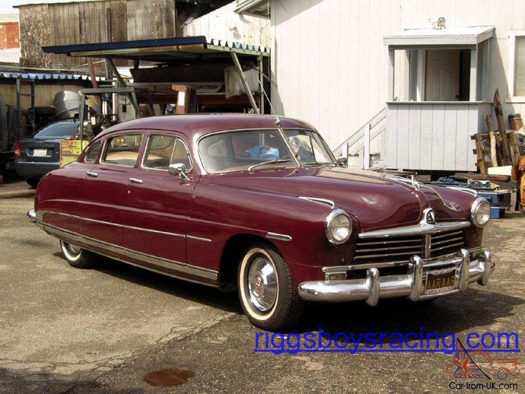 1949 Hudson 1949 Hudson Commodore Sedan Clean California