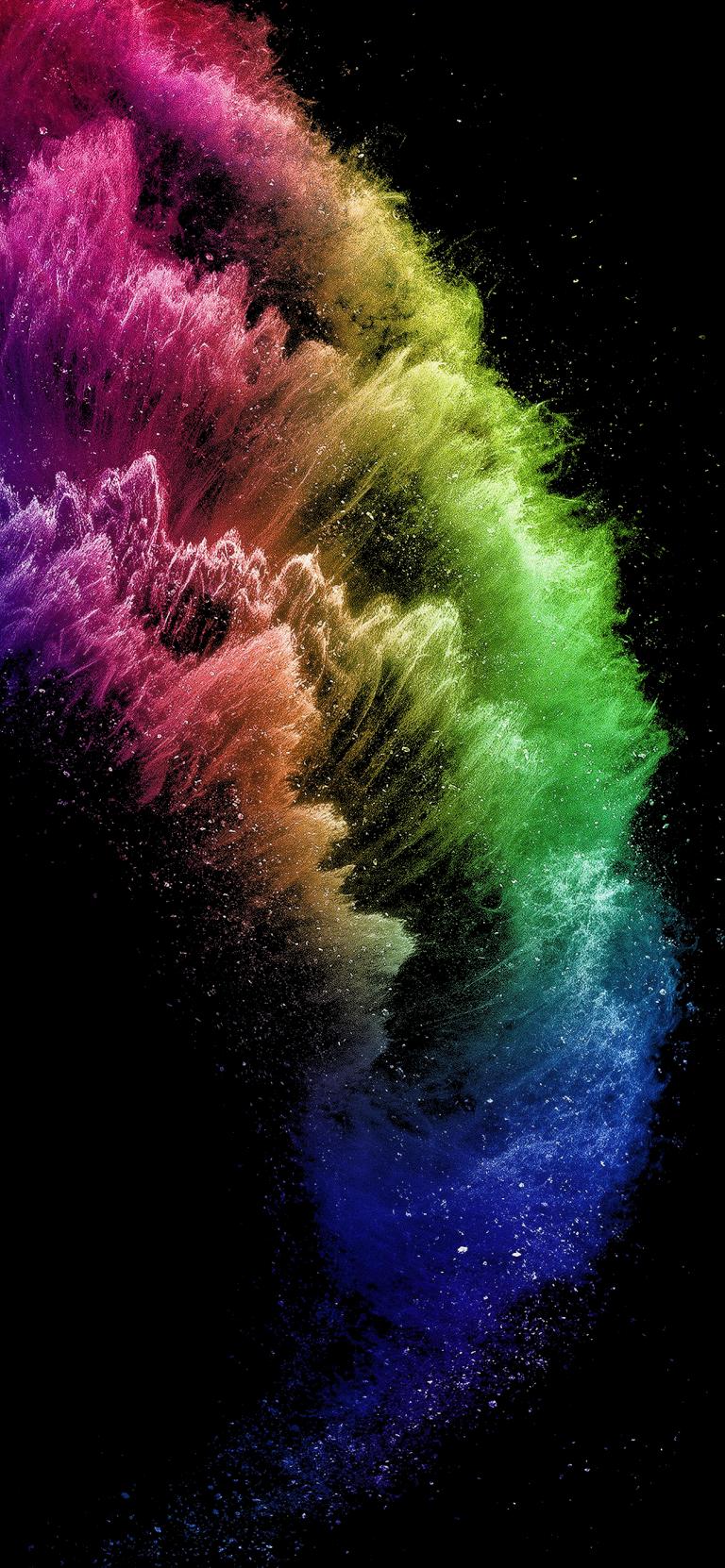 Pin By Ristea Razvan On 3d Rainbow Wallpaper Iphone Iphone Homescreen Wallpaper Black Wallpaper Iphone