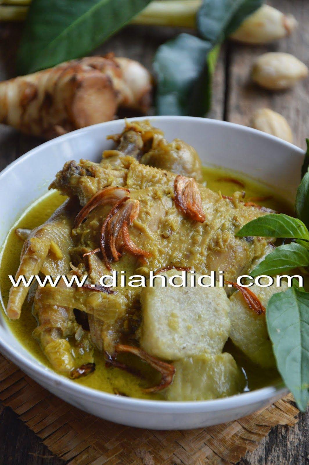 Diah Didi S Kitchen Kare Ayam Makan Malam Resep Masakan Resep Masakan Indonesia