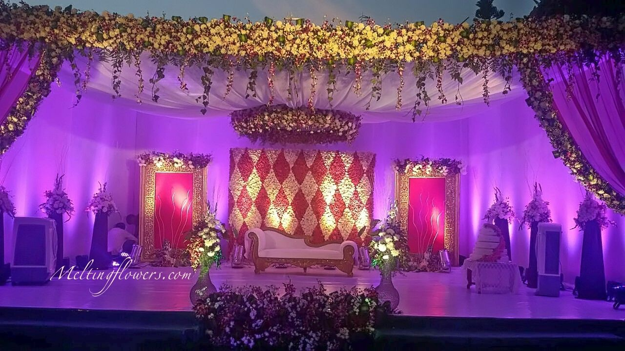 Flamboyant Wedding Backdrop Decoration Ideas That Can Totally ... for Stage Decoration Ideas Design  150ifm