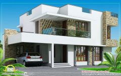 Modern House Plans Of Sri Lanka With Two Storey House Design Plan With House Paint Color Com In 2020 House Balcony Design Kerala House Design Contemporary House Design