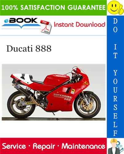 Ducati 888 Motorcycle Service Repair Manual In 2020 Ducati 888 Repair Manuals Ducati