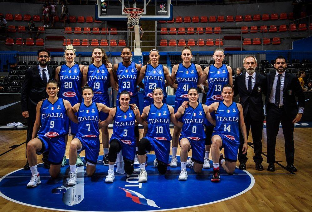 Italia Fiba Women S Eurobasket 2019 Fiba Basketball National Basketball League Basketball News Basketball Leagues