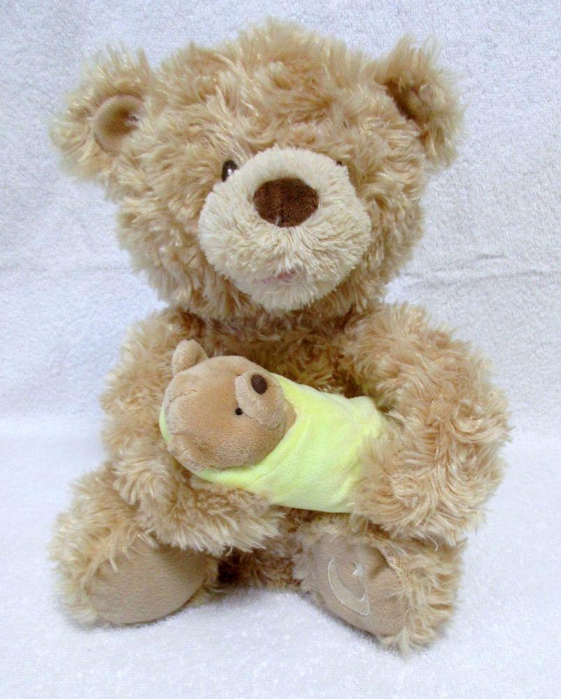 Gund Rock A Bye Singing Animated Bear Plush Stuffed Mama Bear Baby Bear Plush Stuffed Animals Bear Plush Mama Bear Baby Bear [ 1000 x 803 Pixel ]
