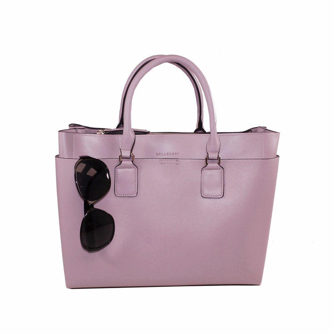 Bellevory Damen Handtasche Tote Bag 215 Altrosa Fulltime Bagstore
