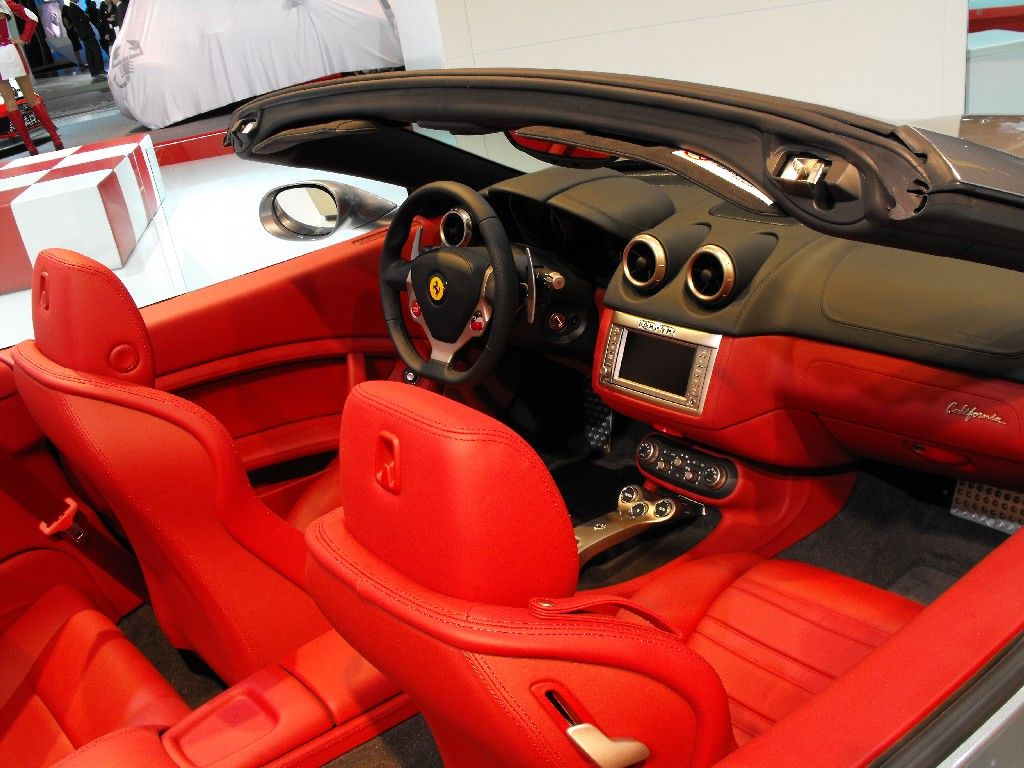 Ferrari California interior #13 | Ferrari California | Pinterest