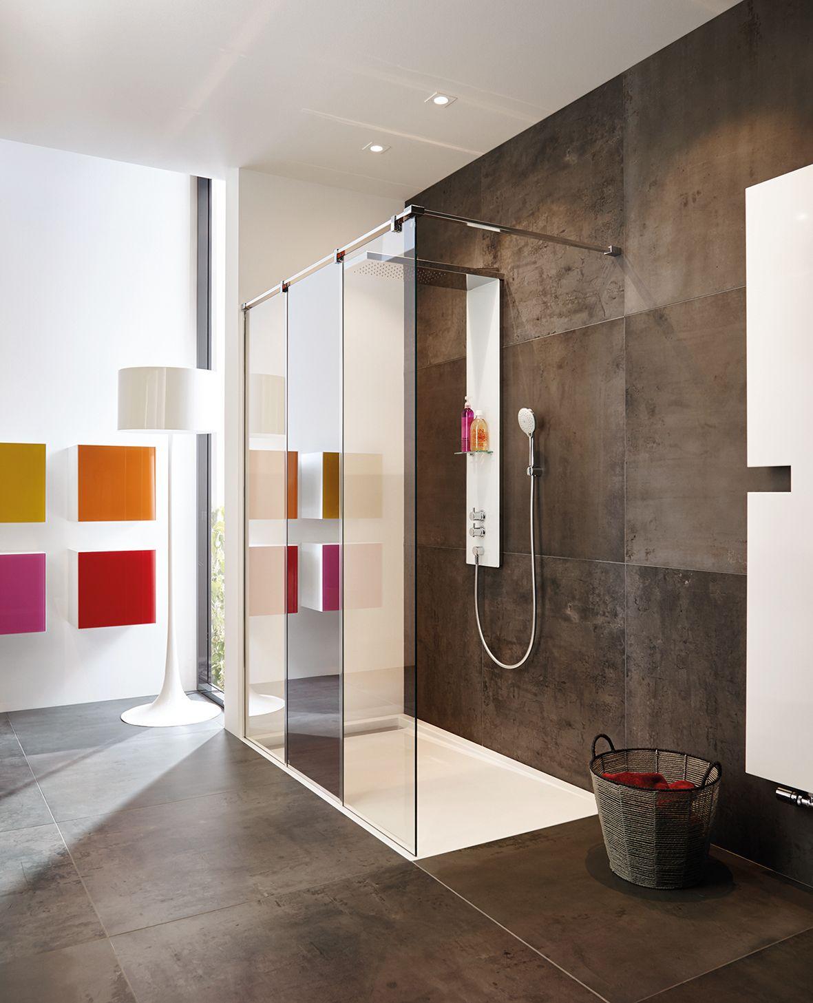 Komfortabel Und Praktisch Walk In Duschen Modernes Luxurioses Badezimmer Duschkabine Und Bad Einrichten