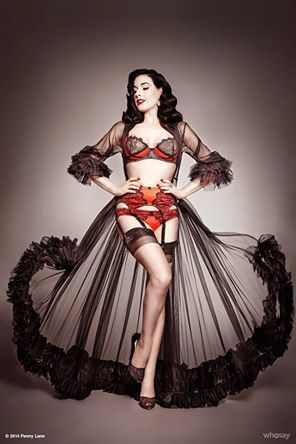 Today's Bombshell Beauty.... Dita Von Teese!!