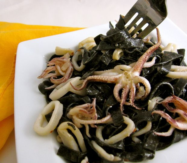 how to make squid calamares