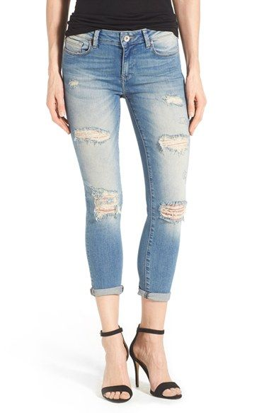 c00d88e5a Mavi Jeans  Ada  Destroyed Stretch Boyfriend Jeans (Ripped Vintage)  available at
