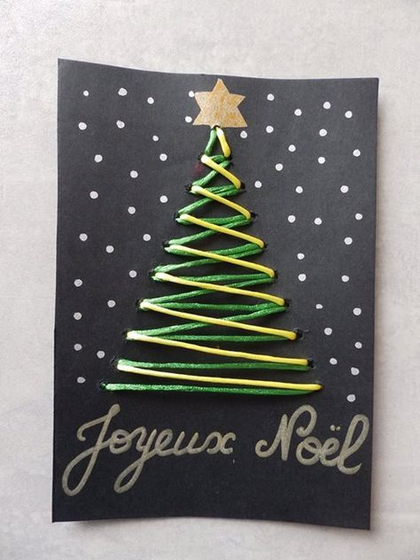Lecture d'un message   mail Orange | Diy carte de noel, Carte noel