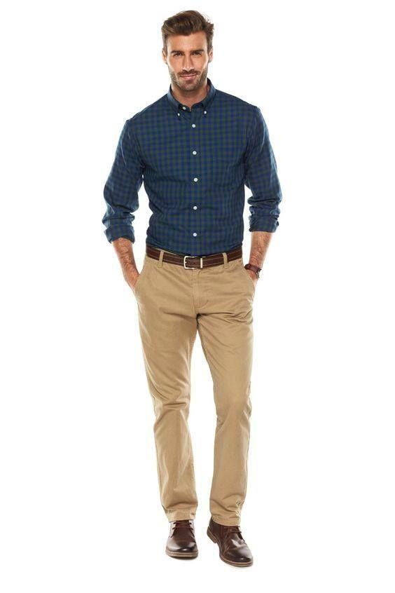 Resultado de imagen de pantalon caqui hombre  e7ce7b9f908