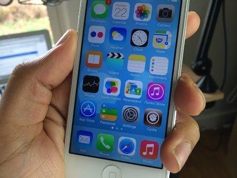 How To Jailbreak IOS 7 With Evasi0n7! Iphone, Iphone ios