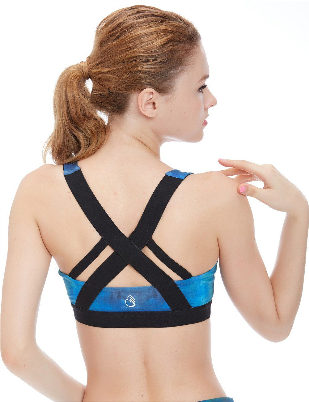 icyzone Women's Workout Yoga Clothes Activewear Racerback Strappy ...