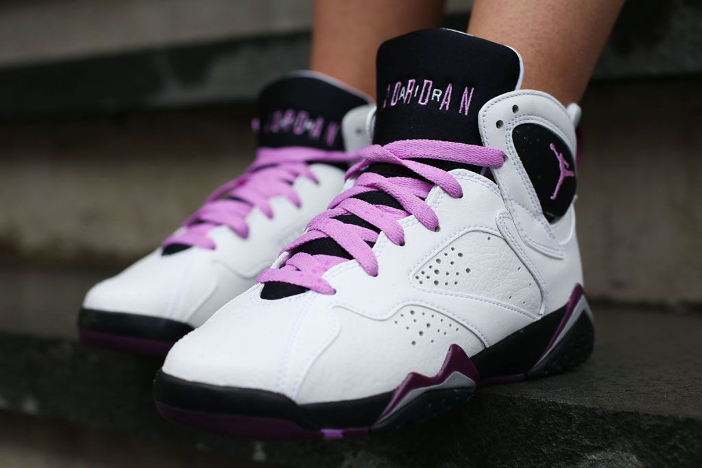 ... Here the first on-feet images of the Air Jordan 7 GS ...