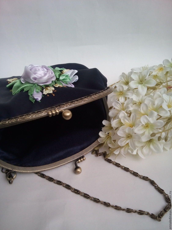 косметичка орнамент летний букет схема вышивки