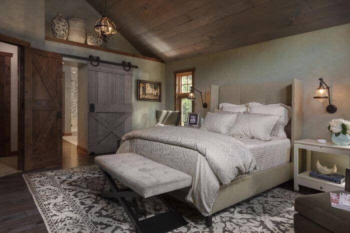 Holzdecke Schlafzimmer Einrichten