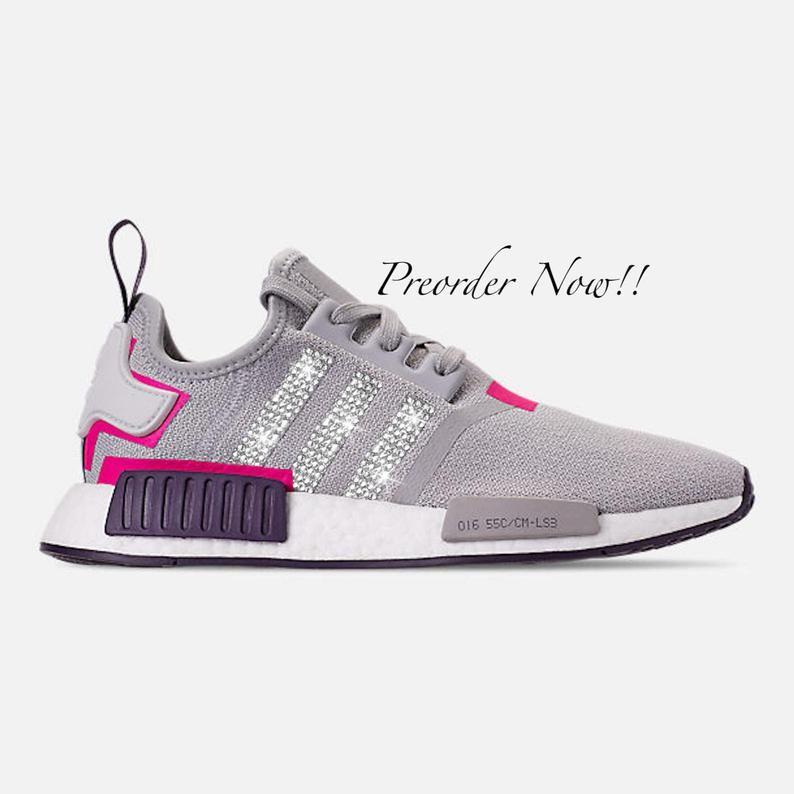 adidas nmd r1 rose et gris