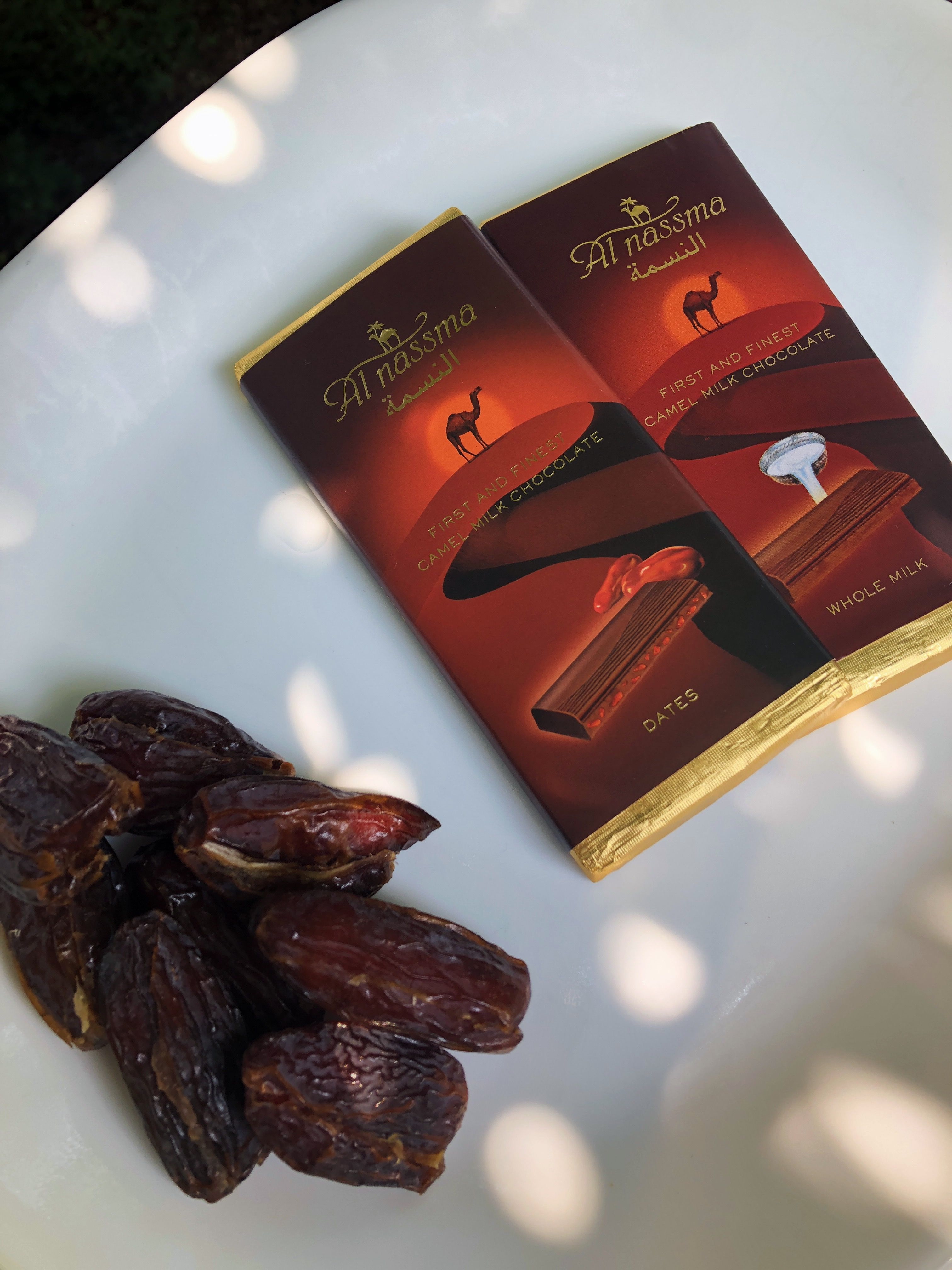 Al Nassma Dark Milk Chocolate W Dates 70 Best Chocolate