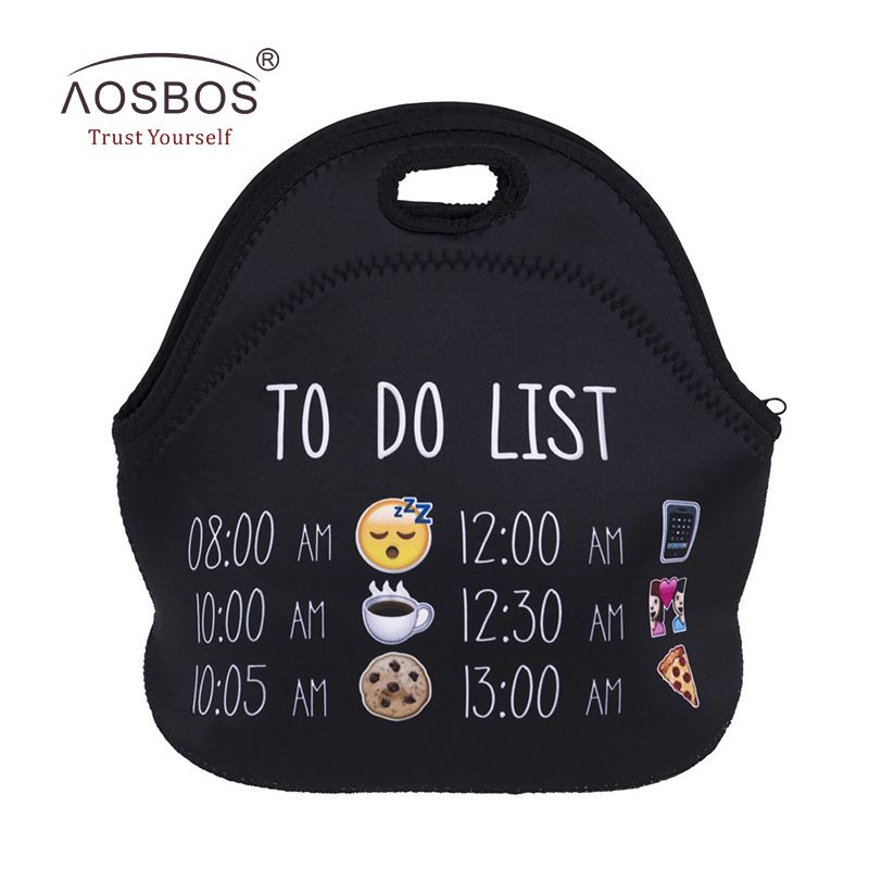 4a5deae68538 Aosbos 3D Printing Insulated Lunch Bags for Women Men Kids ...