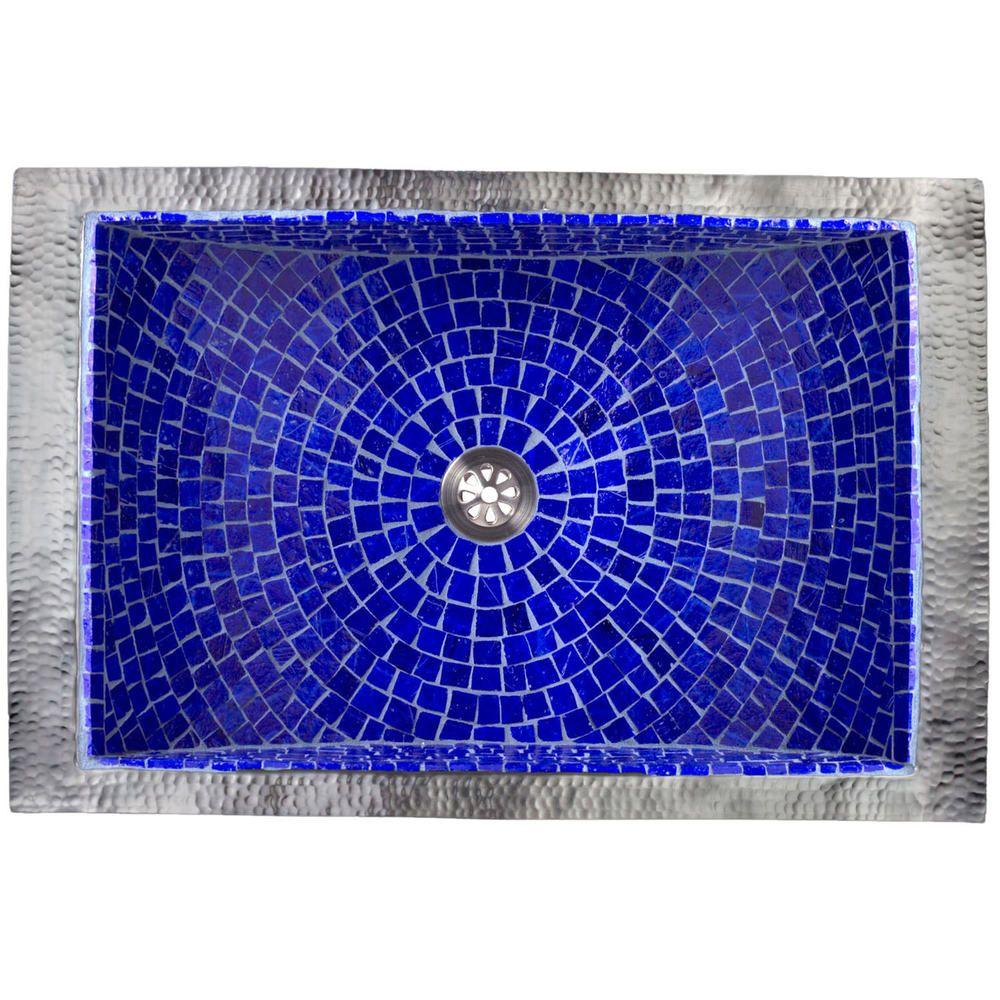 Linkasink Rectangular Crescent Mosaic | Lavatories, Tubs, & Showers ...