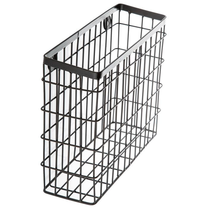 Get Brown Metal Wire Cube Wall Basket Online Or Find Other Baskets Products From Hobbylobby