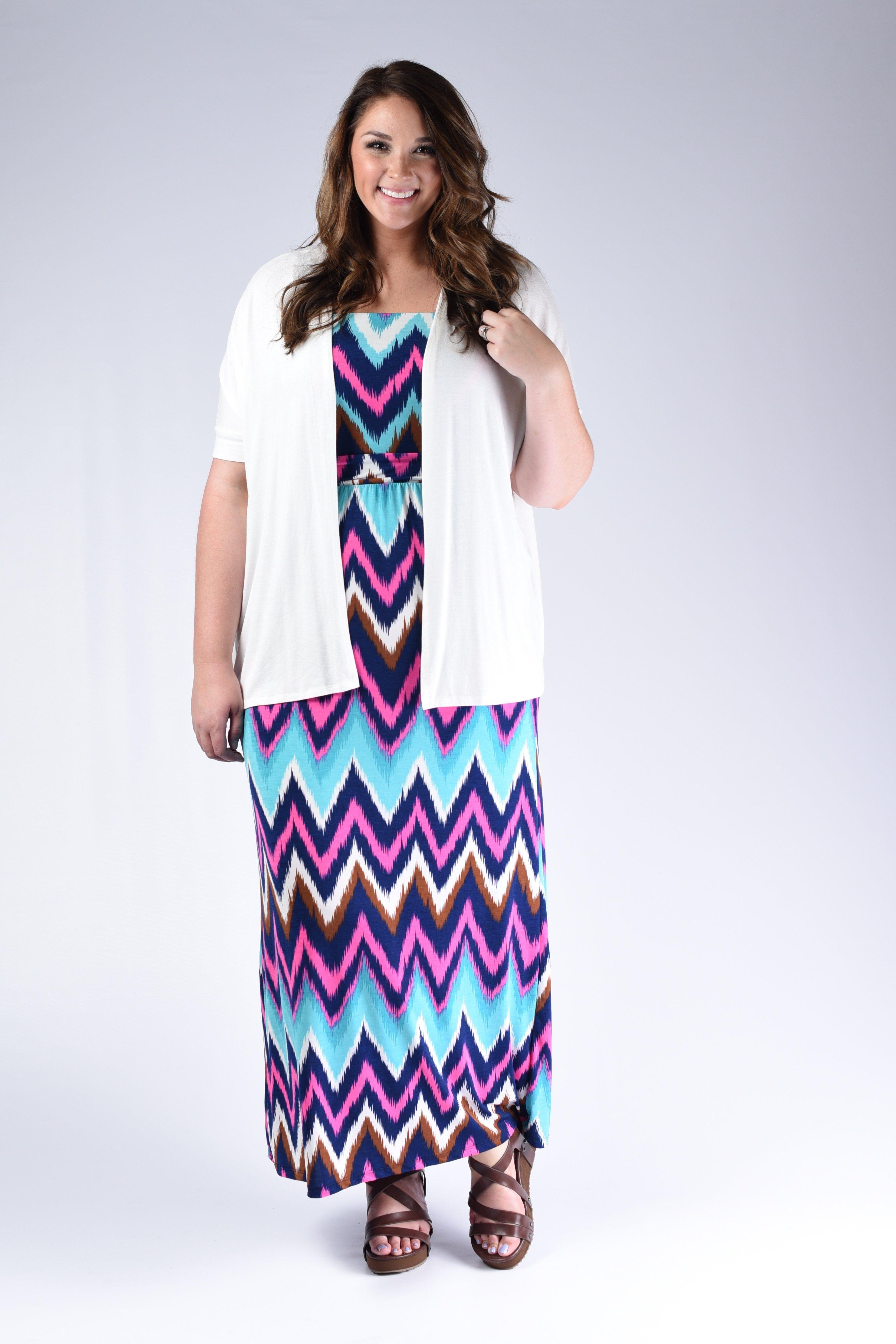 Chevron strapless maxi dress products pinterest dresses plus