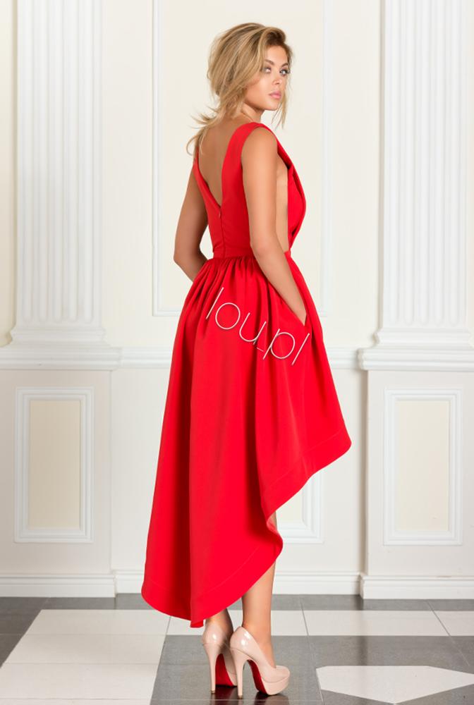 Livia Czerwona Dluga Suknia Fashion Dresses Outfits