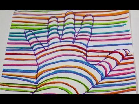 24 Ideas De Dibujos Dibujos Pinceles De Arte Mano En 3d