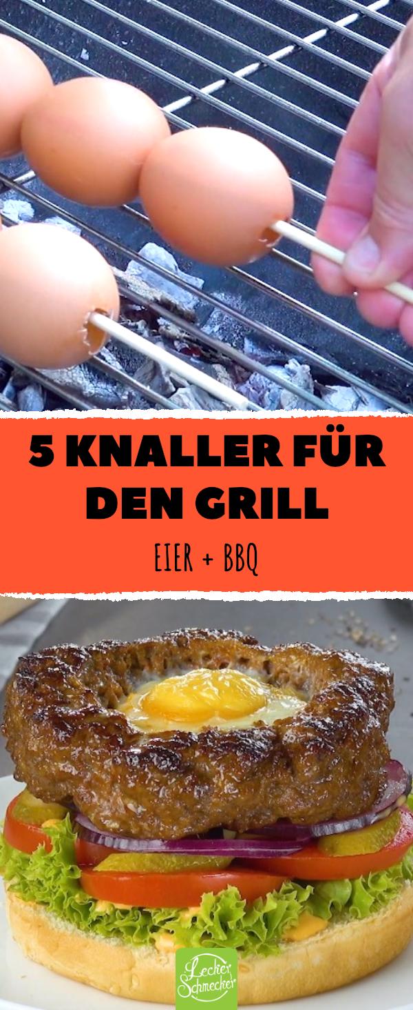 5 Ideen für Eier auf dem Grill