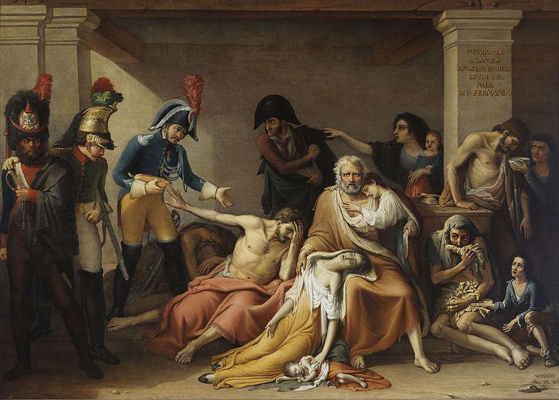 Jose Aparicio Inglada El Hambre En Madrid Museo Municipal De Madrid C 1818 Peinture Neo Classique Wikipedia Neoclassicisme Peinture Histoire De L Art