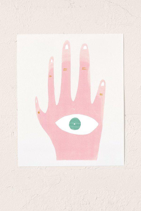 Barbara Dziadosz Lucky Five Art Print