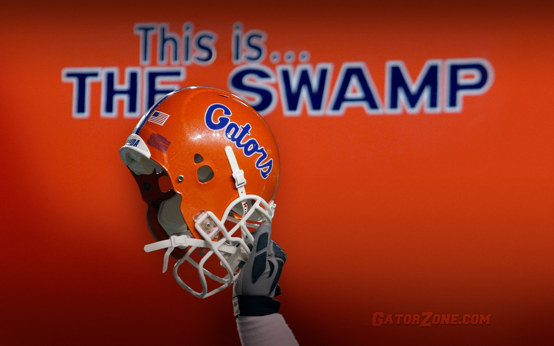 This Is The Swamp With Images Gators Football Florida Gators Wallpaper Florida Gators Football