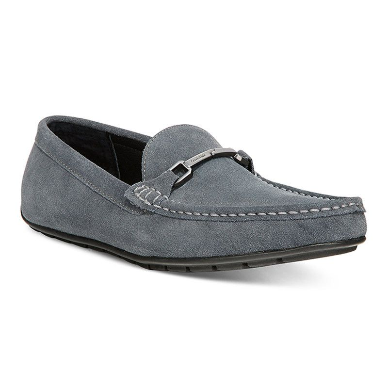 Calvin Klein Isley Suede Loafers - All Men's Shoes - Men - Macy's