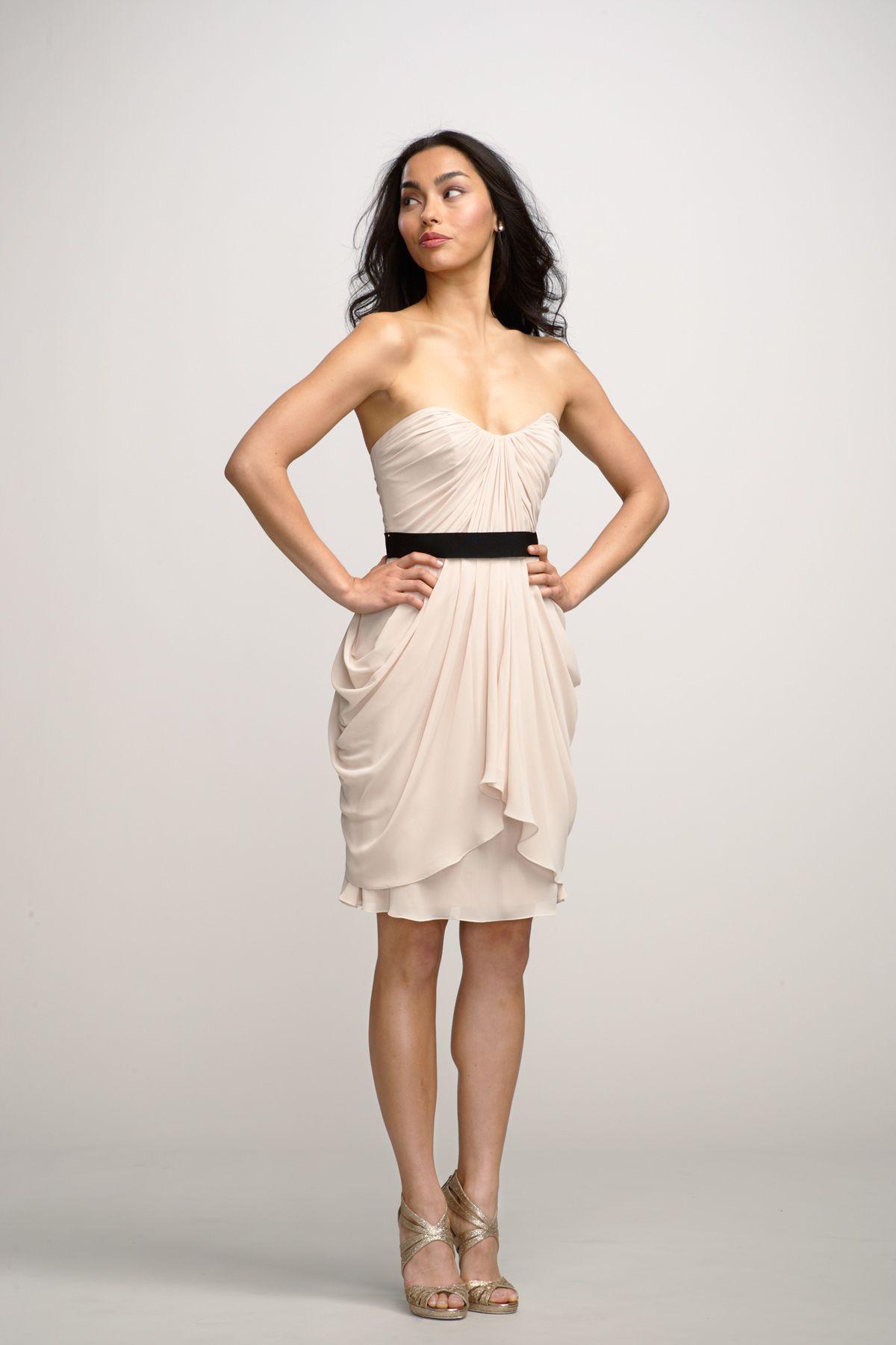 Watters Maids Dress Rose