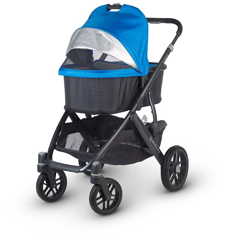 The VISTA is an all in one stroller and car seat. This