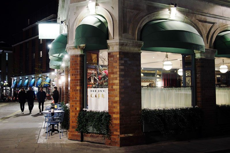 (Eat & Drink) The Ivy Cafe #London