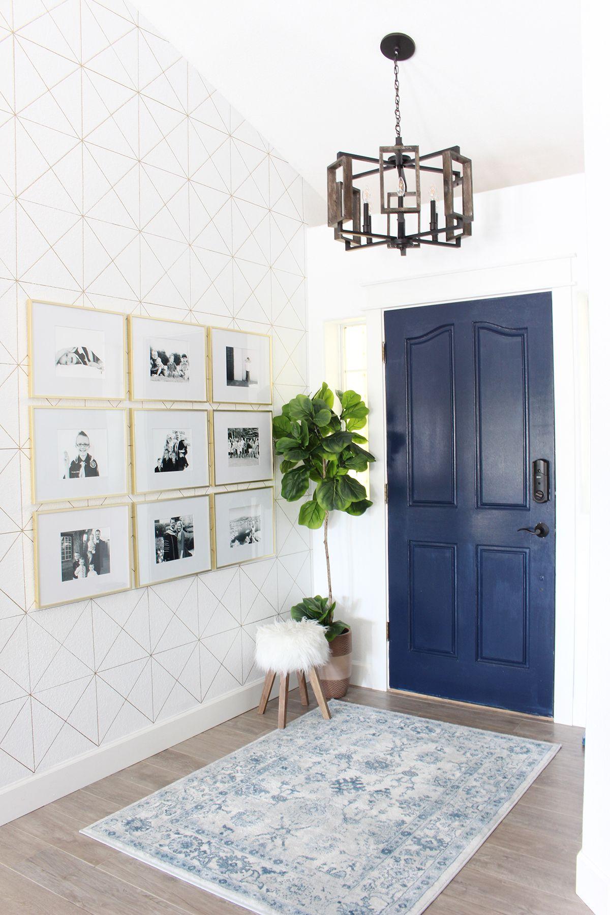 Park Home Reno: Entry Way Makeover | foyer ideas | Pinterest ...