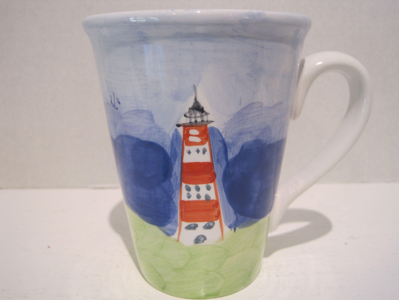Mainsail Studio Nova Mugs Set 4 Coffee Tea Cup 12 oz