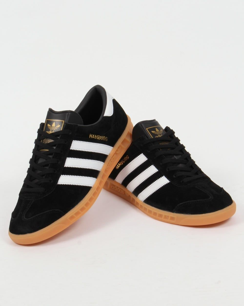 trono aumento Convertir  adidas-hamburg-trainers-black-white-gum-p5404-46884_image.jpg (1000×1256) |  Adidas outfit shoes, Adidas shoes outlet, Running shoes for men