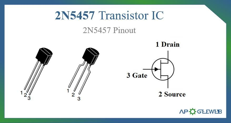 2n5457 Jfet Datasheet Pinout Feature Video In 2021 Transistors Circuitry Voltage Divider