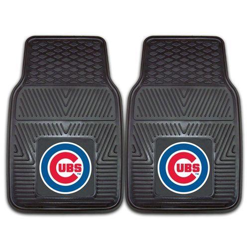 Chicago Cubs 2-Piece Heavy Duty Vinyl Auto Floor Mats