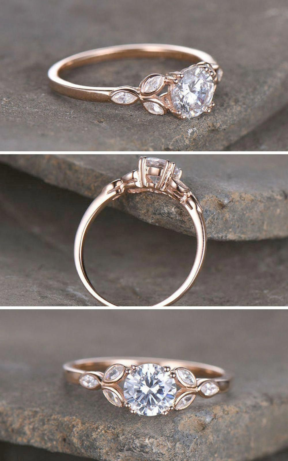 Rose Gold Promise Rings For Sale Gold Promise Rings For Her Cheap Vintageweddingring Wedding Rings Vintage Wedding Rings Round Silver Engagement Rings