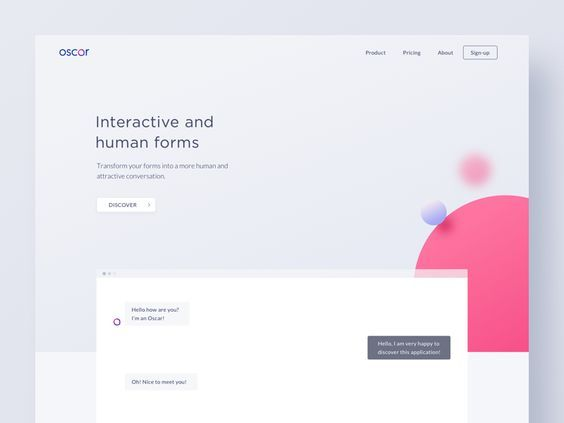 Oscar Artificial Intelligence Artificial Intelligence Web Design Website Themes