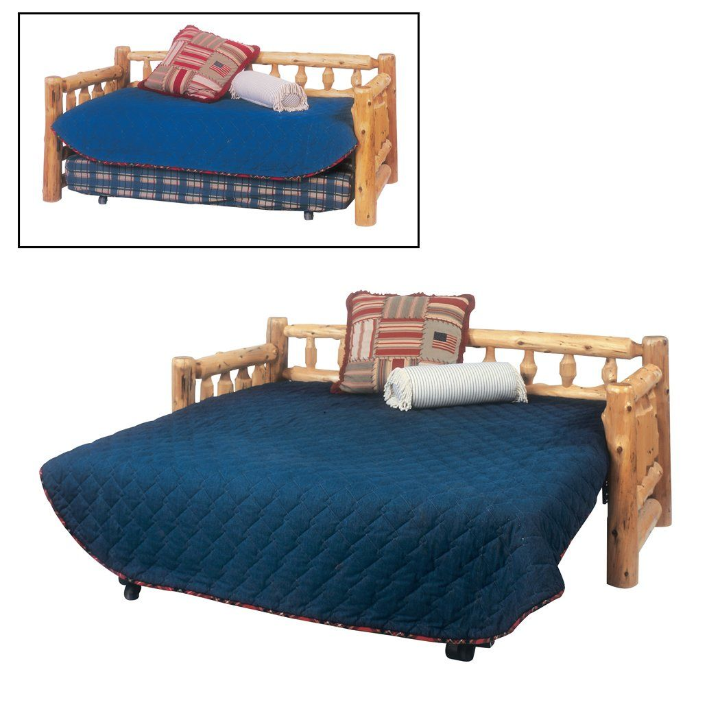 Shop Fireside Lodge Furniture 1015 Cedar Day Bed With