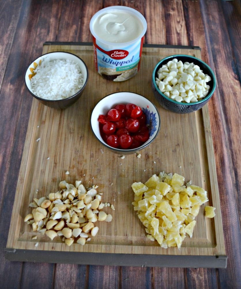 Everything you need to make Pina Colada Fudge
